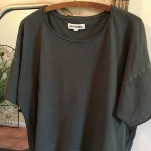Madewell Rivet & Thread Tee, Green, Medium